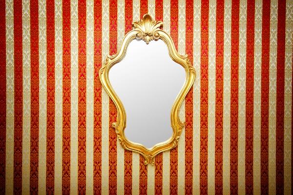 Mirror image via Shutterstock
