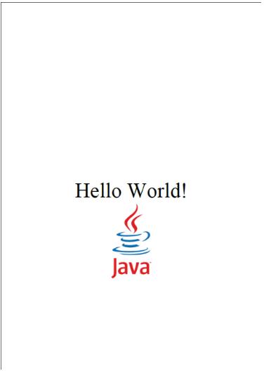 تصویری از pdfی که قرار است در این مثال طراحی کنیم.